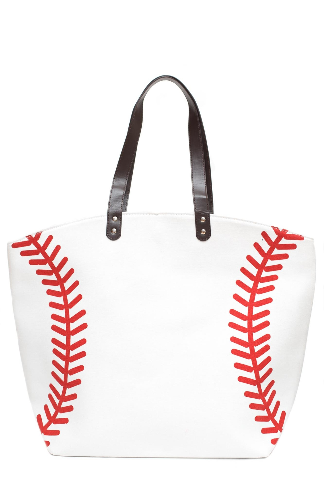 Love Of Fashion Baseball Tote Bag Front Cropped Image