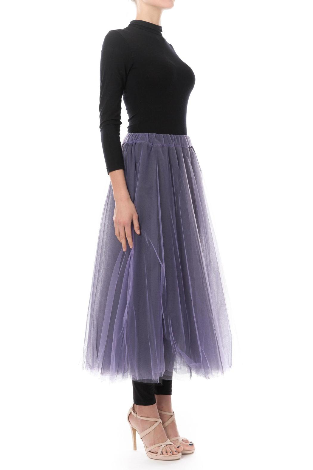 basharatyan v midi tulle skirt from soho by the permanent