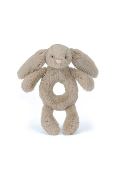 Jellycat BASHFUL BEIGE BUNNY RING RATTLE - Product List Image