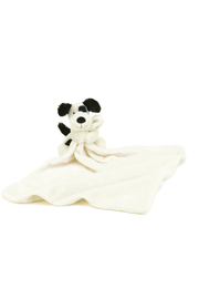 Jellycat Bashful Black and Cream Puppy Soother - Product Mini Image