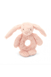 Jellycat Bashful Blush Bunny Ring Rattle - Product Mini Image