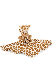 Jellycat Bashful Giraffe Soother - Front cropped
