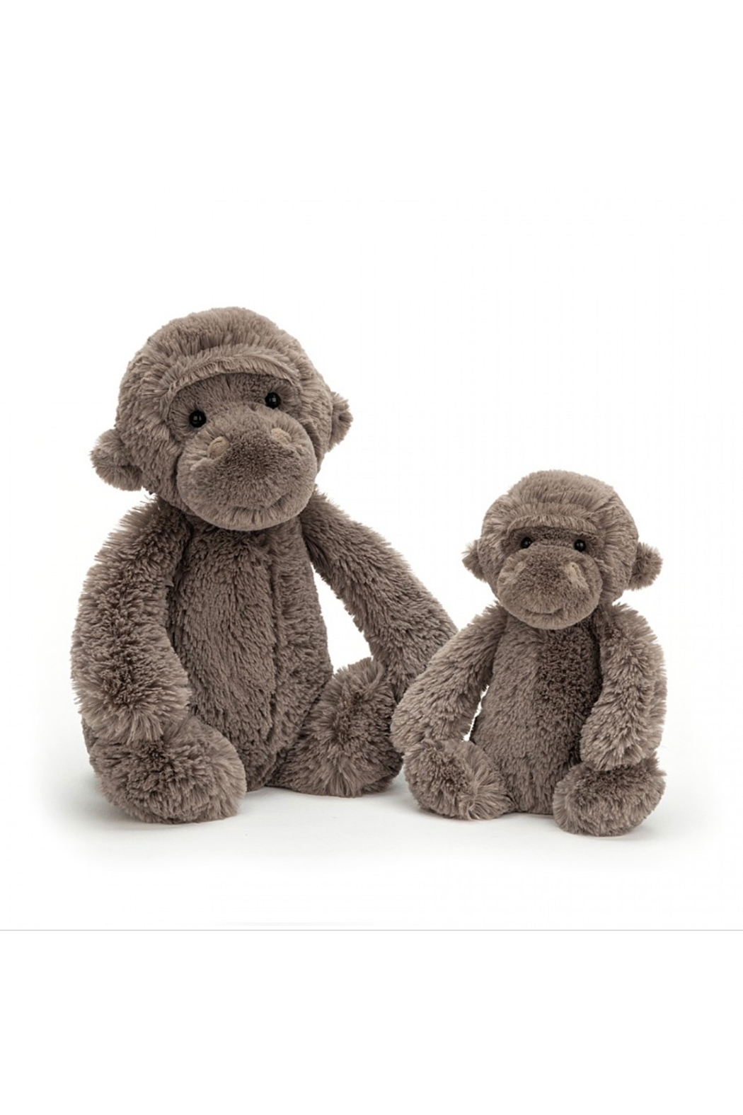 Jellycat Bashful Gorilla Medium - Front Full Image