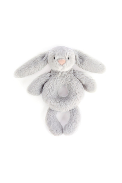 Jellycat Bashful Grey Bunny Rattle - Product List Image