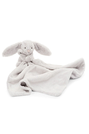 Jellycat Bashful Grey Bunny Soother - Front cropped