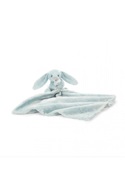 Jellycat Bashful Light Blue Bunny Soother - Front cropped