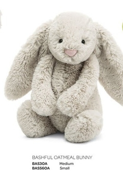Jellycat  Bashful Oatmeal Bunny Medium - Alternate List Image
