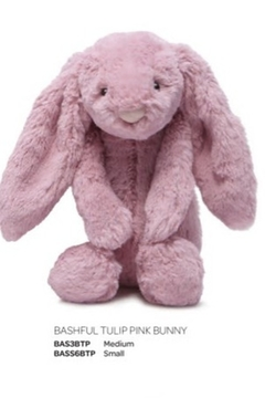 Jellycat Bashful Tulip Pink Bunny - Product List Image