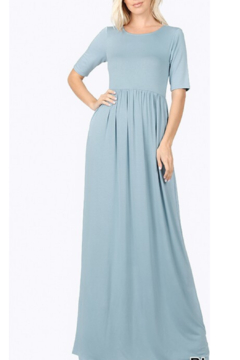 Zenana Basic Babe Maxi Dress - Alternate List Image