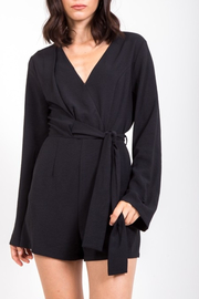 Very J  Basic Babe Romper - Front cropped