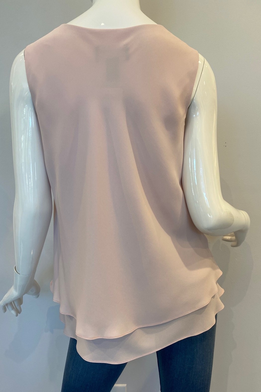 Frank Lyman Basic Chiffon Top, Multiple Colors - Front Full Image