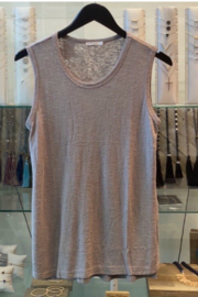 Comune Basic Grey Tank - Product Mini Image