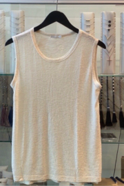 Comune Basic Ivory Tank - Product Mini Image