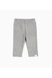 Miles Baby Basic Legging - Heather Grey - Product Mini Image