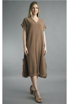 TEMPO PARIS  BASIC LONG DRESS - Alternate List Image