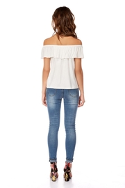 Best Mountain Basic Off-Shoulder Top - Front full body