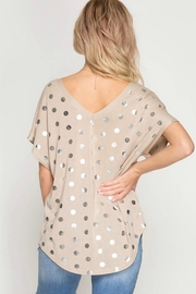 She + Sky Basic Polka Dotty - Side cropped