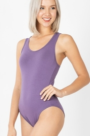 AAAAA Fashion Basic Racer Bodysuit - Front cropped