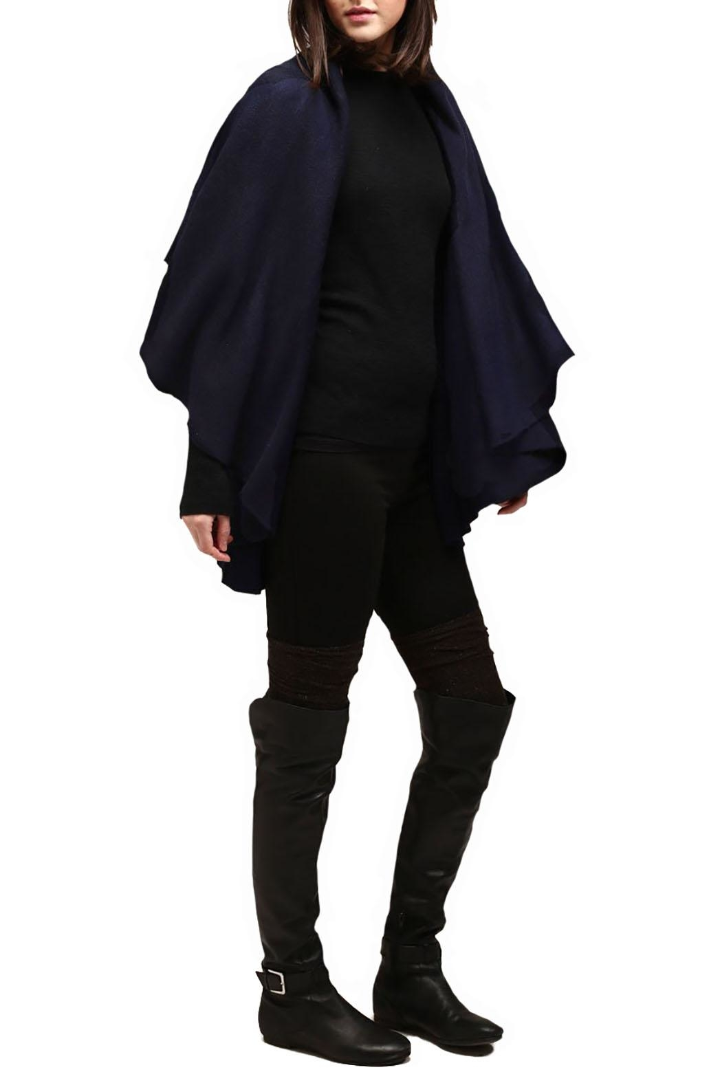 Look by M Basic Shawl Vest - Front Full Image