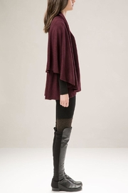 Look by M Basic Shawl Vest - Front full body