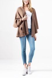 Look by M Basic Shawl Vest - Front cropped