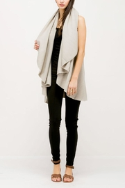 Look by M Basic Shawl Vest - Side cropped