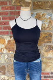 Suzette Basic Skinny Strap Cami - Product Mini Image