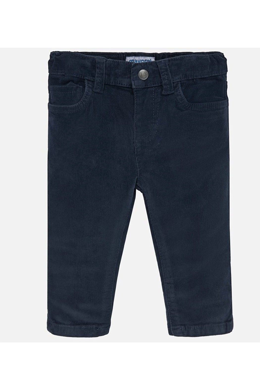 Mayoral Basic Slim Fit Cord Trousers - Main Image