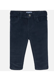 Mayoral Basic Slim Fit Cord Trousers - Front cropped