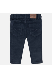 Mayoral Basic Slim Fit Cord Trousers - Front full body
