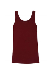 Tees by Tina BASIC SMOOTH TANK - Front full body