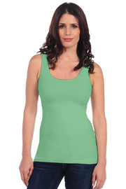 Tees by Tina BASIC SMOOTH TANK - Front cropped