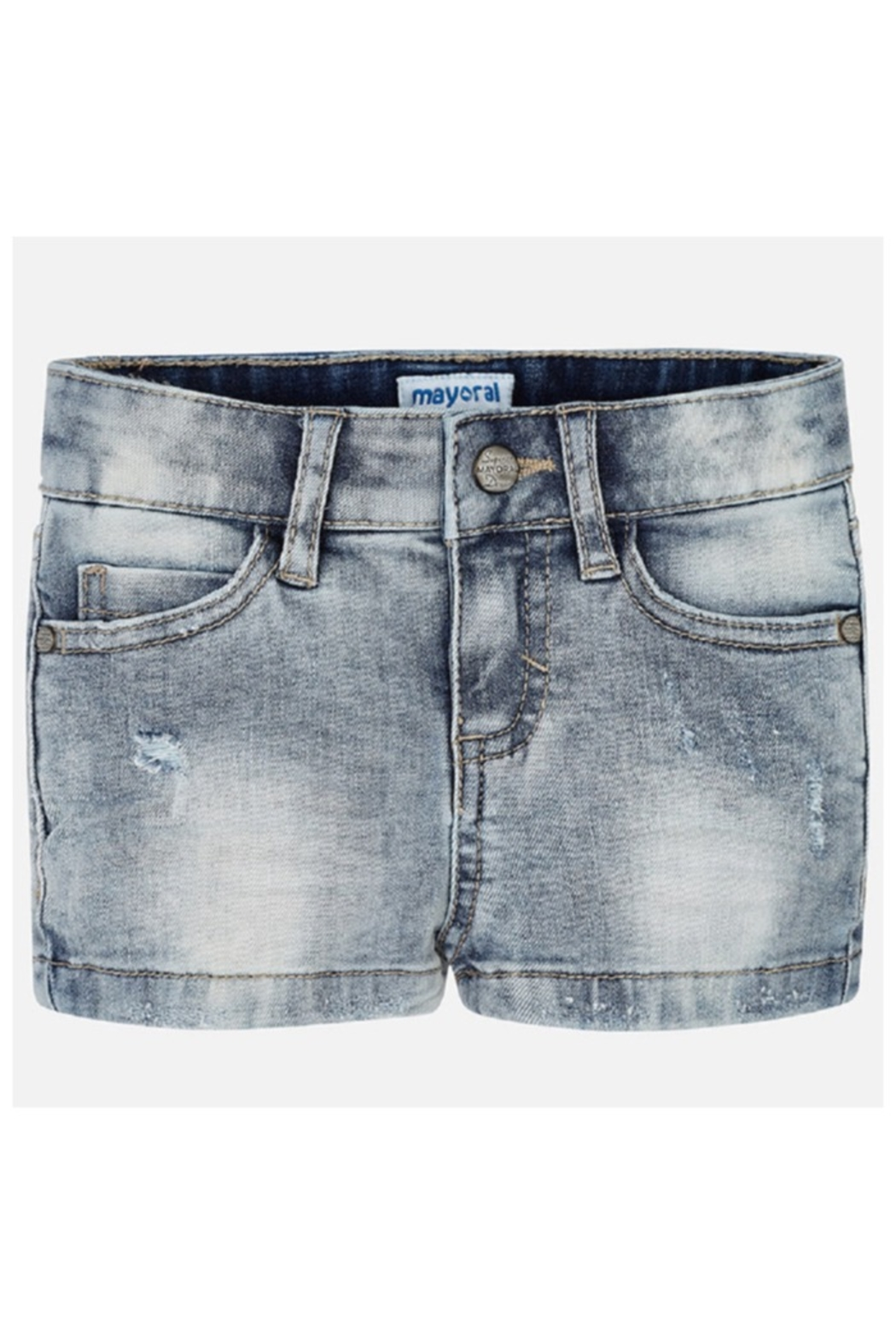 Mayoral BASIC STRETCH DENIM SHORT - Main Image