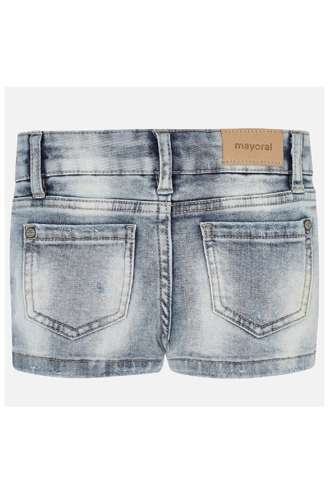 Mayoral BASIC STRETCH DENIM SHORT - Side Cropped Image