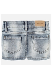 Mayoral BASIC STRETCH DENIM SHORT - Side cropped