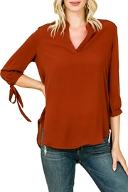 Misia Basic Tie-Sleeve Blouse - Product Mini Image