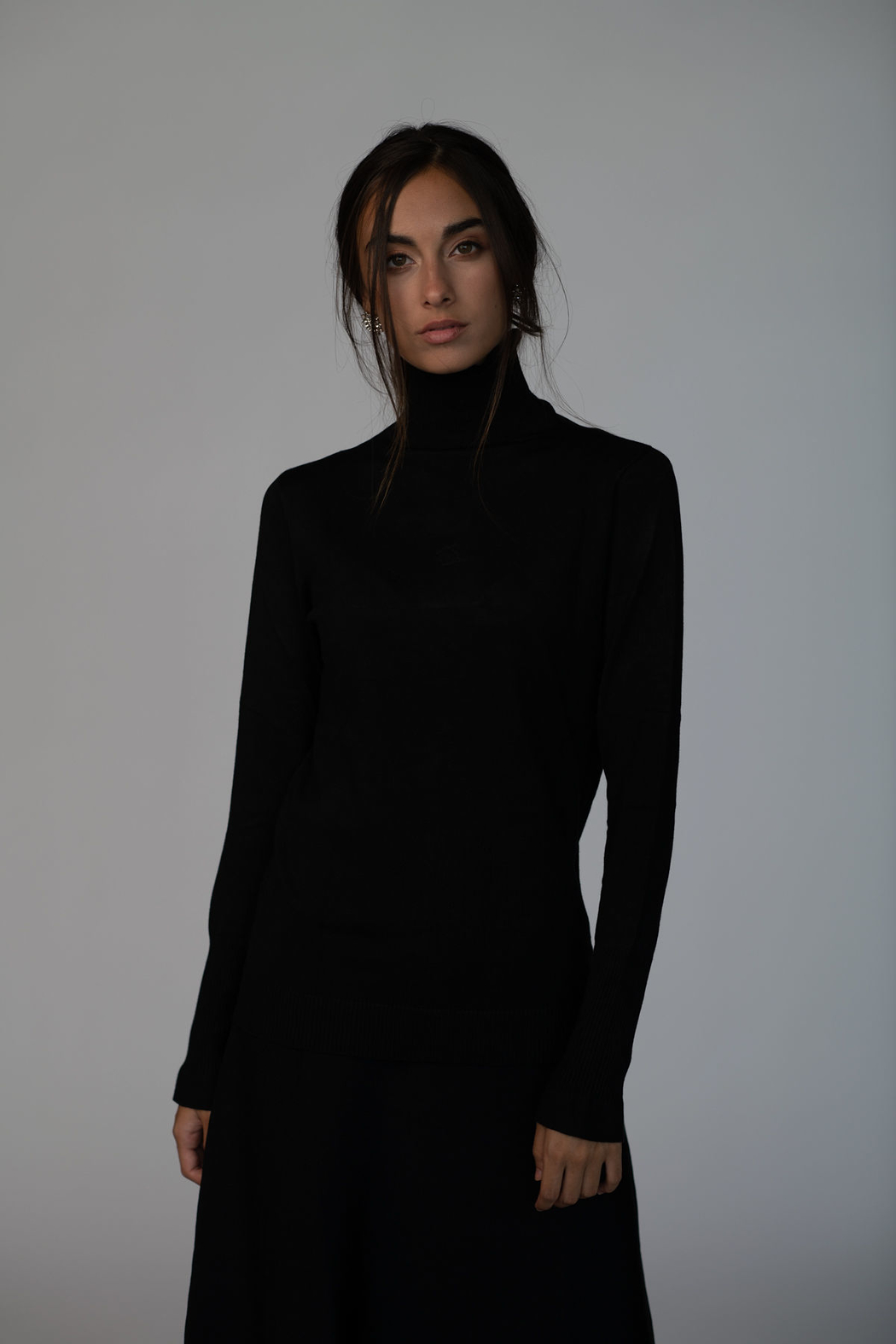 Meli by FAME Basic Turtleneck - Main Image