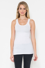 Heart & Hips Basic White Tank - Product Mini Image