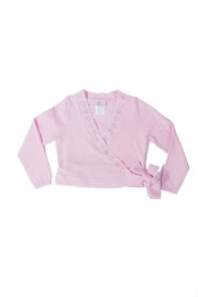 Basic Moves Hearts Wrap Sweater - Product Mini Image