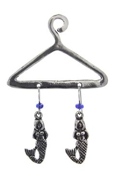 Shoptiques Product: Mermaid Earrings On Hanger