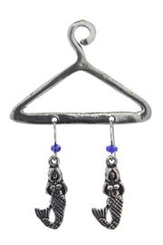 Basic Spirit Mermaid Earrings On Hanger - Product Mini Image