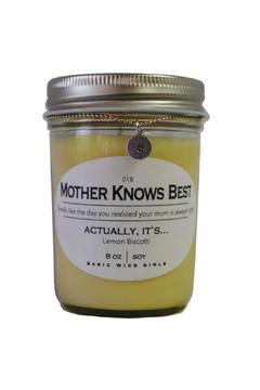 Shoptiques Product: Mother Knows Best Candle