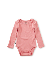 Tea Collection Basically Baby Bodysuit - Mauveglow - Product Mini Image