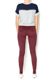 Basically Me Faux Suede Leggings - Side cropped