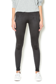 Basically Me Faux Suede Leggings - Front cropped