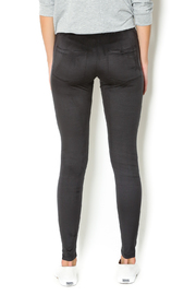Basically Me Faux Suede Leggings - Back cropped