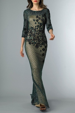 Basix Embellished Evening Gown - Product List Image