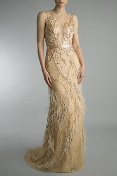 Basix Embroidered Evening Gown - Product List Image