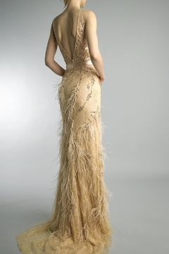 Basix Embroidered Evening Gown - Alternate List Image