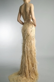 Basix Embroidered Evening Gown - Front full body